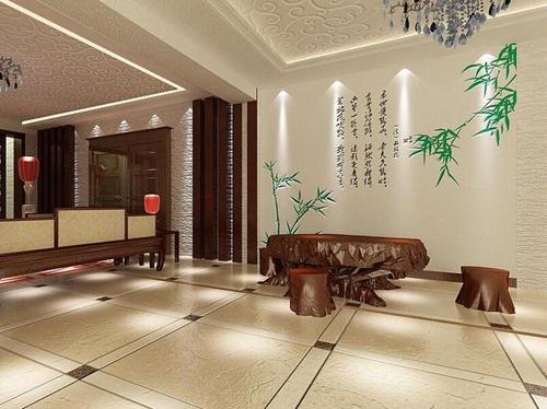 中国著名涂料品牌绿森林硅藻泥诠释着淋漓尽致的复古风