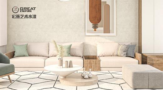 市场新机遇 艺术涂料为何成为家装市场的新宠?